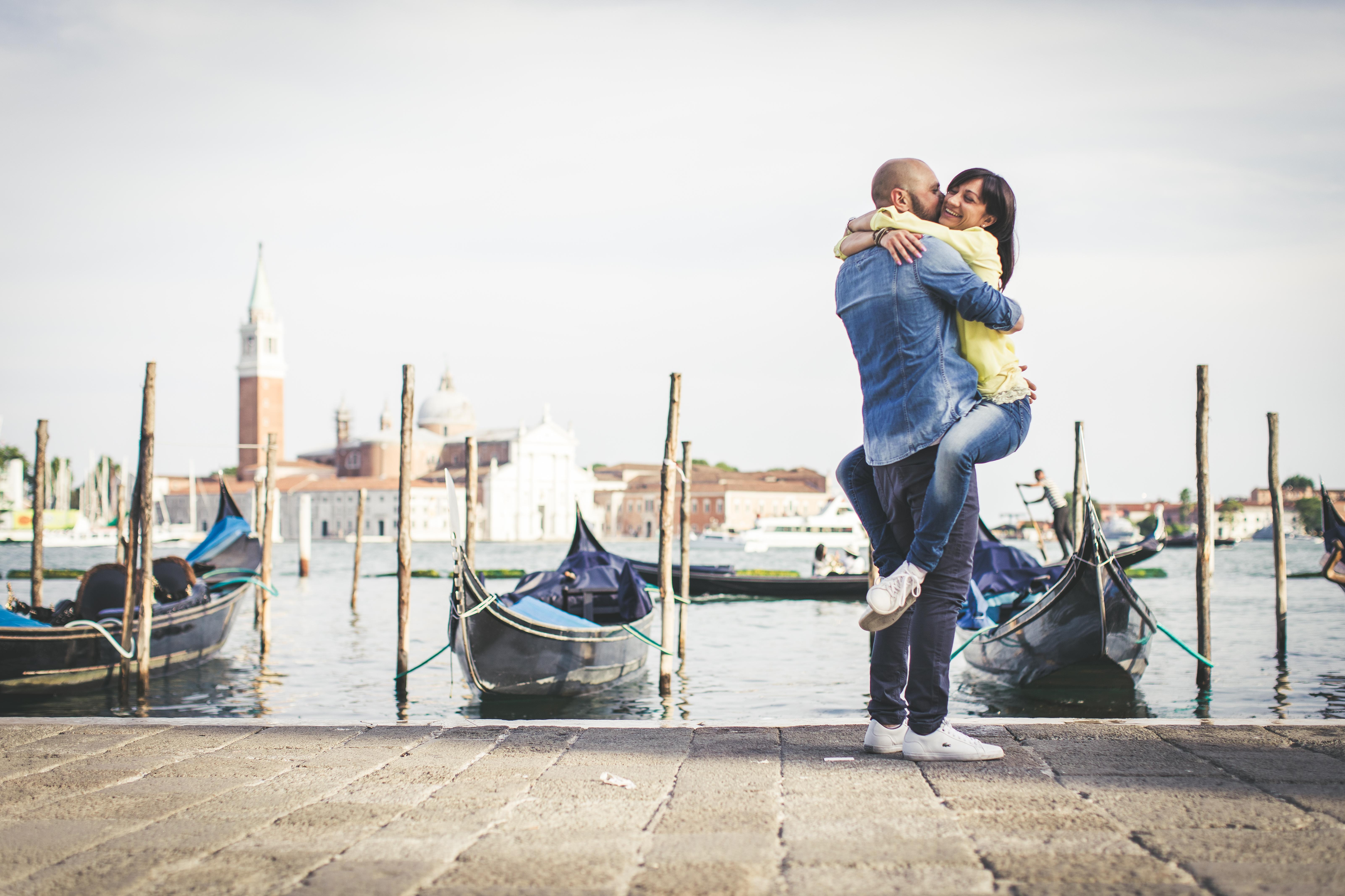 Servizio fotografico di fidanzamento a Venezia