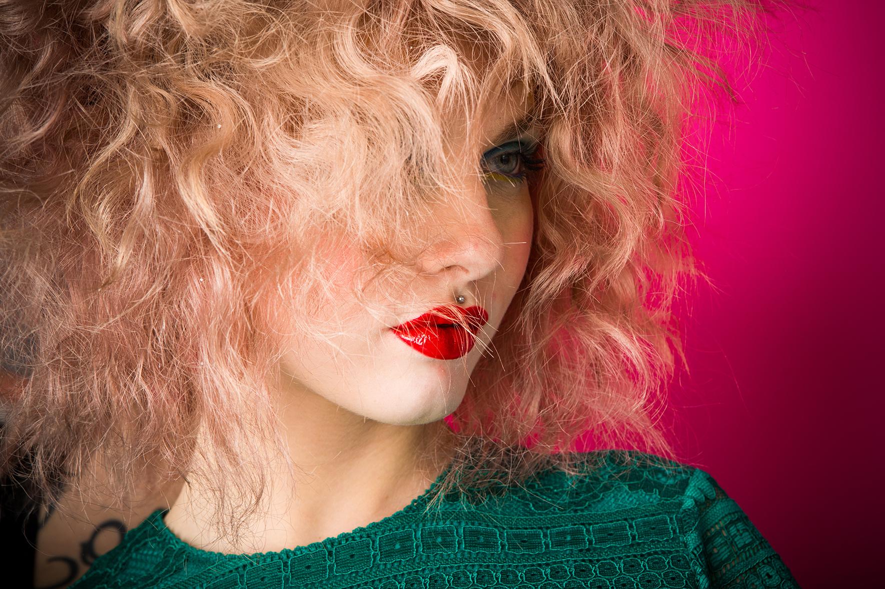 Servizio fotografico pubblicitario per hair stylist