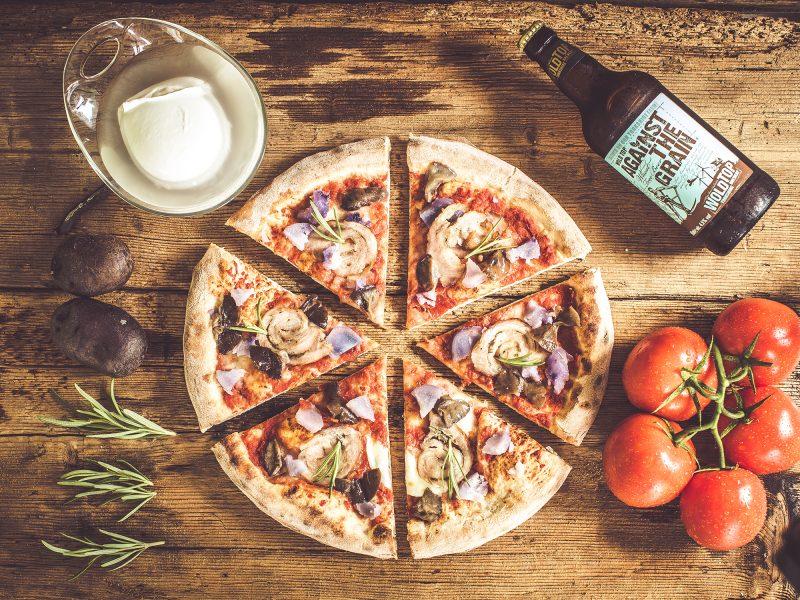 Servizio fotografico per pizzeria